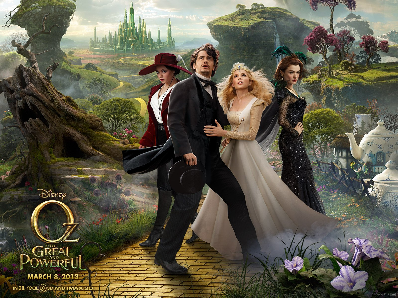 Oz the great and powerful is a prequel to the wizard of oz intended to