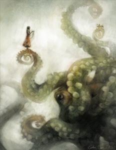 "Picture by Galen Dara: ""A City On It's Tentacles"""